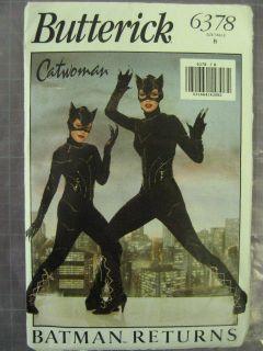 CAT WOMAN (BATMAN RETURNS) COSTUME PATTERN 6378