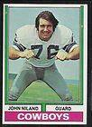 JOHN NILAND 1972 TOPPS AP HIGH NUM CARD 268 COWBOYS