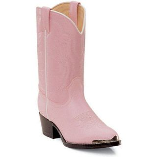 girls pink cowboy boots size 12 in Girls Shoes
