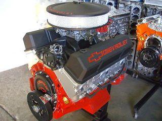 CHEVY 350B 383 409HP 4 BOLT CRATE ENGINE HIGH PERFORMANCE TURN KEY