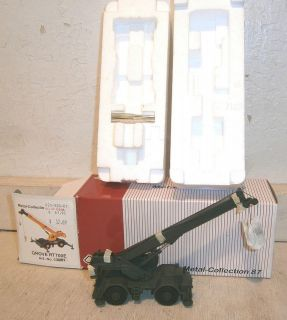 NZG Diecast HO Scale (187) Grove RT700 Rough Terrain Crane   NIB