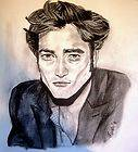Robert Pattinson Edward Cullen Twilight sketch portrait drawing