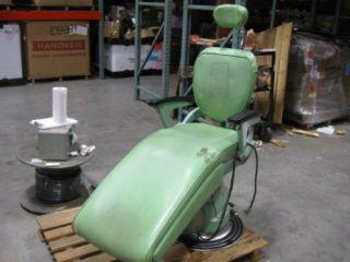 1960s RITTER MOTORIZED DENTAL CHAIR MODEL C ~USED~