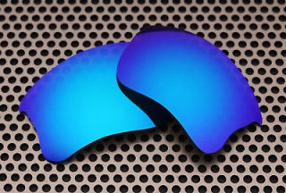 New VL Polarized HD Ice Blue Lenses For Oakley Flak Jacket XLJ