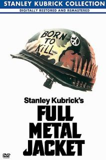 Full Metal Jacket (Fullscreen DVD) R. Lee Ermey & Matthew Modine