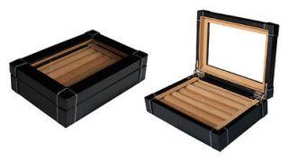 CUFFLINK & RING STORAGE DISPLAY CASE CUFF LINKS MENS JEWELRY BOX