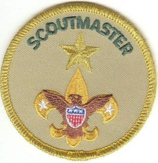 EAGLE CUB BOY SCOUT SCOUTMASTER AWARD OF MERIT PATCH DISCONTINUED