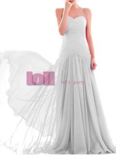Chiffon Evening Prom Formal Dress Wedding Bridesmaid Cocktail Party