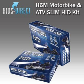 H6M Hi/Lo RAPTOR QUAD ATV SLIM HID XENON CONVERSION KIT