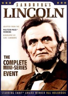 Lincoln The Complete Mini Series Event DVD, 2011, 2 Disc Set