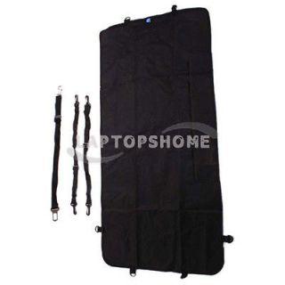 New Nylon Waterproof Car Seat Cover Hammock for Pet Dog Pet Black