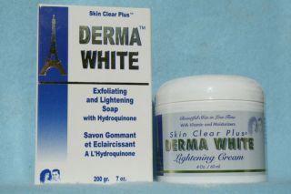 LIGHTENING WHITENING SKIN TONING 4  oz CREAM & 7 oz SOAP ~SAVER COMBO