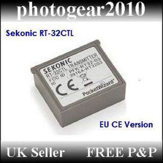 Sekonic RT 32 CTL Radio Transmitter Module for L358 L758D Brand New UK