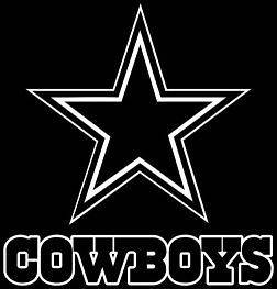 Dallas Cowboys Style #3 Vinyl DECAL Window Car Truck Laptop Man Cave