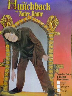 Quasimodo Hunchback of Notre Dame Halloween Child Costume
