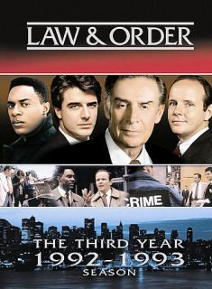 Law Order   The Third Year DVD, 2005