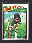 PACKERS Steve Odom Green Bay signed 1977 Topps card AUTO Autographed