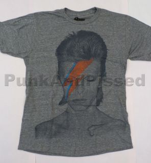 David Bowie   Aladdin Sane huge print t shirt   Official   FAST SHIP