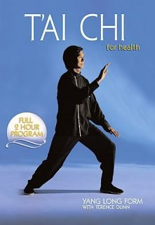 Terence Dunn TAI CHI FOR HEALTH Yang LONG FORM Tai 108 Posture Region