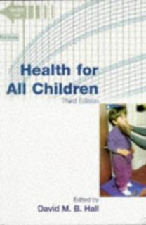 Health Surveillance by David M. Hall 1996, Paperback, Revised