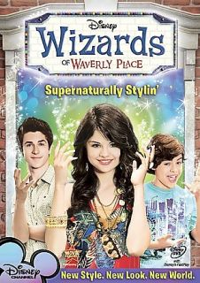 Wizards of Waverly Place   Supernaturally Stylin DVD, 2009