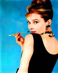audrey hepburn canvas in Direct from the Artist