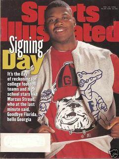 SPORTS ILLUSTRATED 2 19 96   Signing Day, Shawn Kemp, Felix Trinidad
