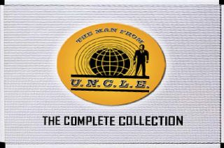 The Man From U.N.C.L.E.   The Complete Series DVD, 2008, 41 Disc Set