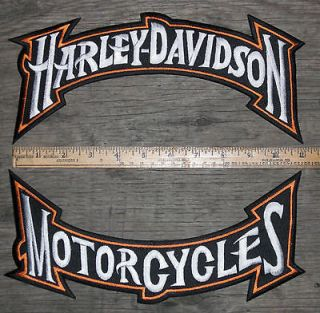 harley davidson patches large in Collectibles