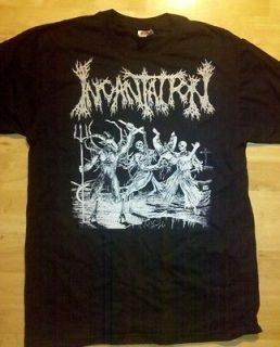 INCANTATION T shirt XL Death metal Black IMMORTAL MAYHEM Burzum