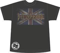 Def Leppard   Vintage Jack   Large T Shirt
