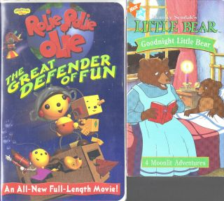 Rolie Polie Olie Great Defender of Fun & Little Bear