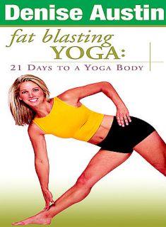 Denise Austin   Fat Blasting Yoga DVD, 2003
