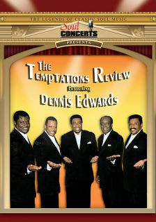 The Temptations Review Featuring Dennis Edwards   Live in Concert DVD