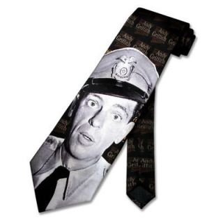 Deputy Barney Fife SILK NeckTie Andy Griffith Show Mens Neck Tie