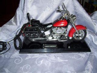 Harley Davidson Hertiage Softail Model Desk Telephone