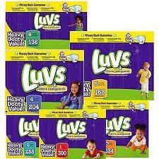 luvs diapers in Disposable Diapers