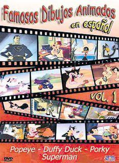 Famosos Dibujos Animados en Espanol   Vol. 1 DVD, 2003