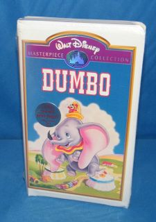 Dumbo (Walt Disney Masterpiece Collection VHS, 1998) *NEW*