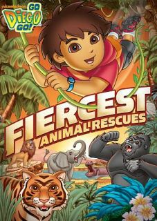 Go Diego Go Fiercest Animal Rescues DVD, 2011
