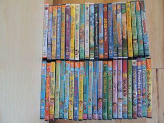 Jr Dora Diego Wonder Pets Disney Mickey Mouse Blues Clues 45 DVd lot