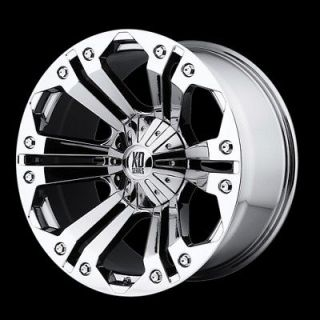 MONSTER CHROME RIMS AND 285 50 20 NITTO TERRA GRAPPLER AT TIRES WHEELS