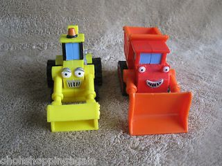 Scoop Digger Backhoe Muck Truck Bob the Builder Toy Mini Car Hasbro