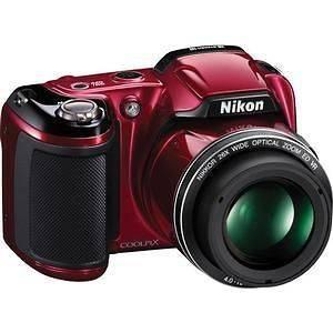 L810 16.1MP BLACK Digital Camera + Soft Case Warranty Pro Kit NEW