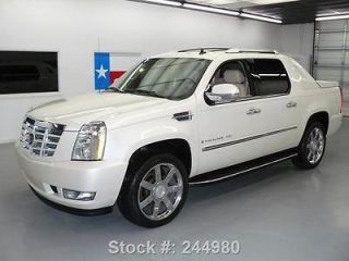 CADILLAC ESCALADE EXT AWD NAV DVD REAR CAM 43K MI TEXAS DIRECT AUTO