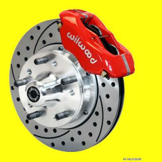 Wilwood Front Performance Disc Brake Kit Brakes Drilled Slotted 11