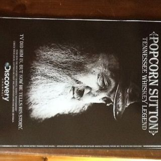 Popcorn Sutton Discovery Channel Poster GREAT FOR COLLECTORS XMAS FREE