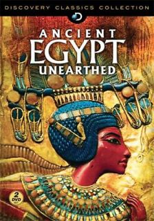 Discovery Channel   Ancient Egypt Unearthed DVD, 2009, 2 Disc Set