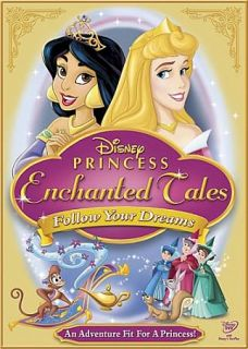 Disney Princess Enchanted Tales Follow Your Dreams DVD, 2007