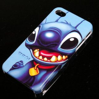New Lilo Stitch Disney Hard Back Cover Case iPhone 4G/S
